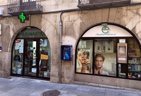 fachada eparafarmacia farmacia Vinesa Ávila